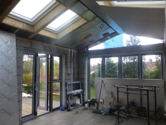 Cronton extension doors and windows