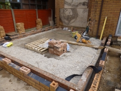 Cronton extension slab