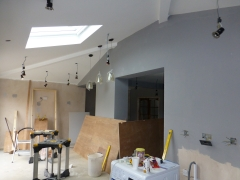 Hough Green extension rooflight