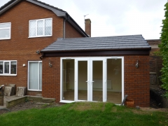 Newton le Willows extension outside