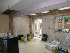 Warrington 4 plastering