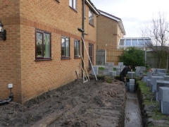 house extension widnes foundations