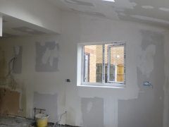 house extension widnes plastering