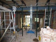 liverpool renovation steelwork